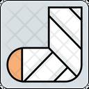 Leg Fracture Icon