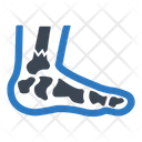 Fracture Injury Leg Icon