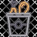 Legpiece Chicken Bucket Icon