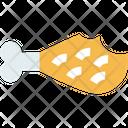 Food Wastem Leg Piece Chicken Icon