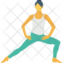 Leg Stretch Yoga Icon