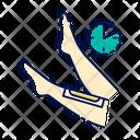 Leg Waxing Beige Icon