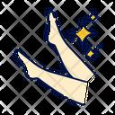 Leg Waxing Process Beige Icon