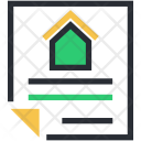 Legal Documents Mortgage Icon