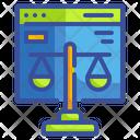Legal Balance Law Icon