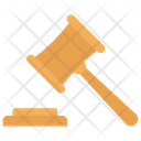 Legal Gavel Justice Icon