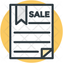 Legal Document Paperwork Icon