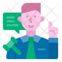 Legal Advisor Icon