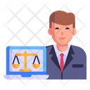 Legal Advisor Icon
