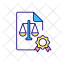 Certificate Document Contract Icon