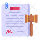Legal Contract Icon