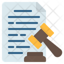 Legal Document Icon