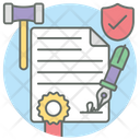 Legal Document Agreement Deed Icon