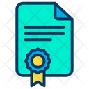 Legal Document Legal Page Icon