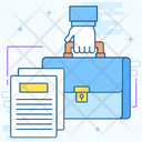 Legal Forms Legal File Law Papers Icon
