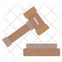 Legal Hammer Laws Court Icon