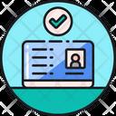 Legal Identity Id Card Identity Card Icon