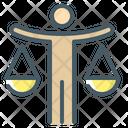 Legal Judgement Decision Justice Icon