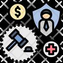 Enforce Legal Law Icon