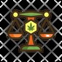 Legal Marijuana Icon