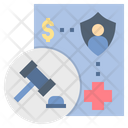 Legal Law Coverage Icon