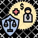 Law Welfare Coverage Icon