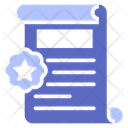 Legal Paper Document Law Icon