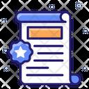 Legal Paper Icon