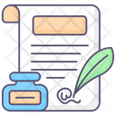 Authorized Book Certificate Icon