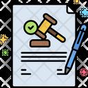 Legalization Icon