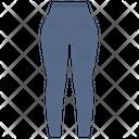 Legging Pants Wearing Icon
