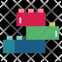 Lego Cube Rectangle Icon