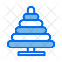 Lego Ring Toy Ring Stack Icon