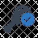 Chicken Legpiece Drumstick Icon