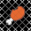 Legpiece Drumstick Food Icon