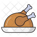 Legpiece Chicken Food Icon