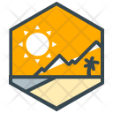 Leisure Scenery Mountain Icon