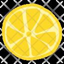 Lemon Yellow Fruit Icon