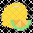 Lemon Slice Vegetable Organic Icon