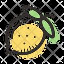 Lemon Food Sour Icon