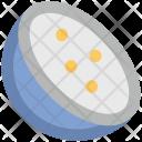 Lemon Slice Citrus Icon