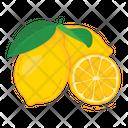 Lemon Fruit Fresh Icon