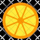 Lemon Slice Orange Icon