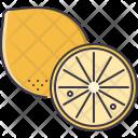 Lemon Fruit Cooking Icon