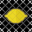 Lemon Food Healthy Icon
