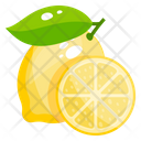 Lemon Fruit Healthy Food Icon