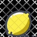Lemon Fruit Tropical Icon