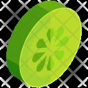 Lemon Lime Slice Icon