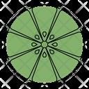 Fruit Lemon Slice Icon
