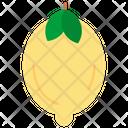 Lemon Fruits Healthy Icon